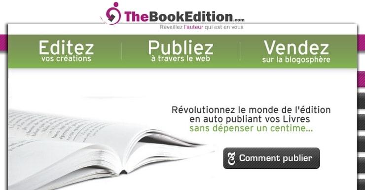 thebookedition en ligne livres
