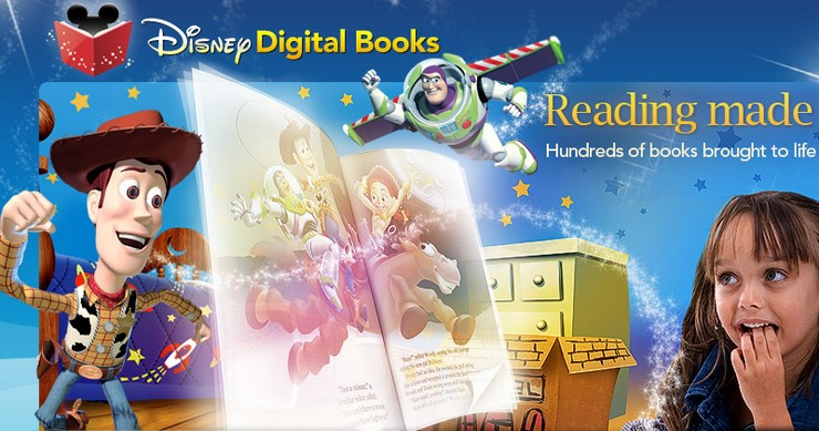 disney digital books