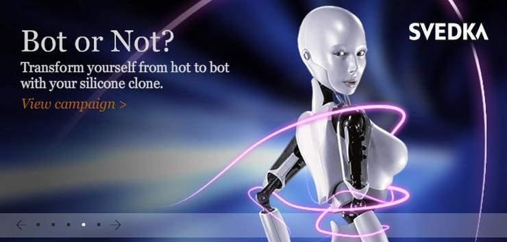 bot or not SVEDKA
