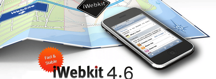 iwebkit creer site iphone gratuit