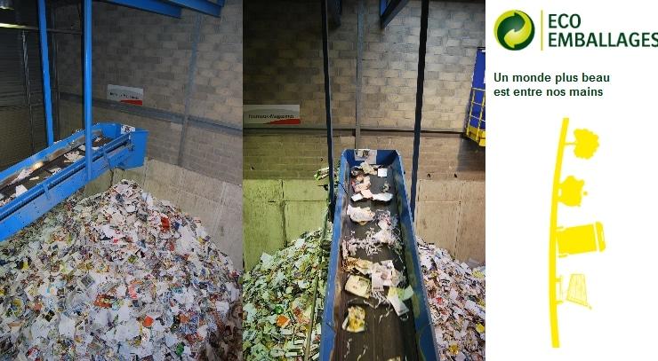 eco emballage chaines de tri