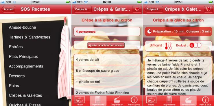 Application cuisine gratuite recettes with application cuisine gratuite interesting gratuit for Application cuisine ikea