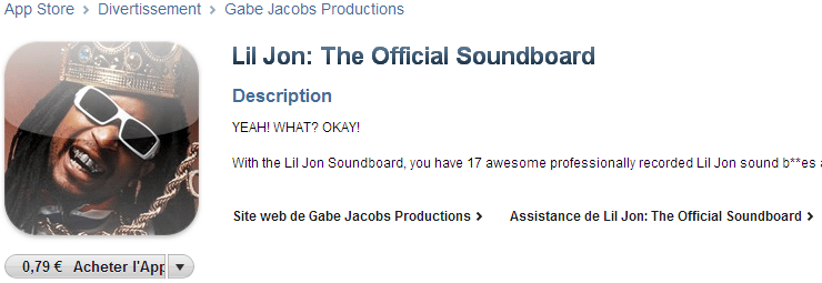 lil john iphone official soundboard