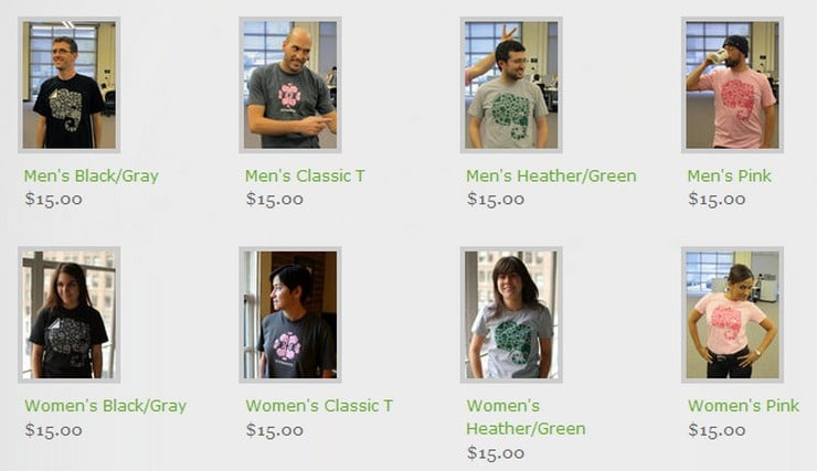 tshirt evernote shop