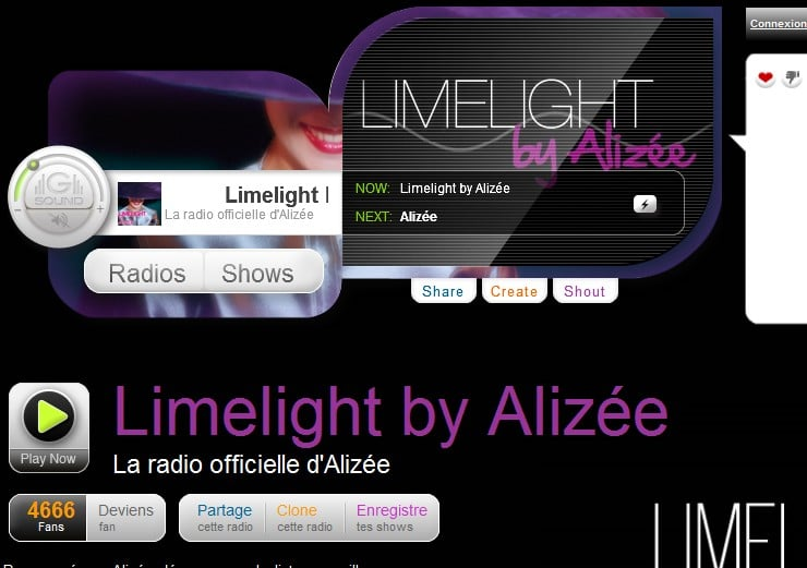limelight by alizee goomradio
