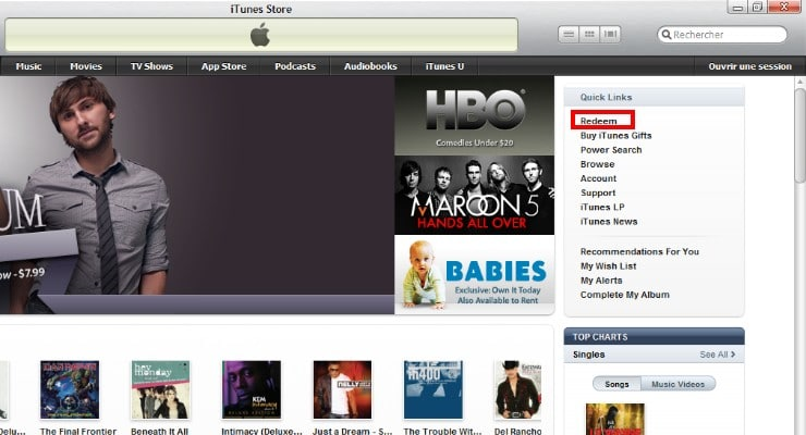 how to change to american itunes store