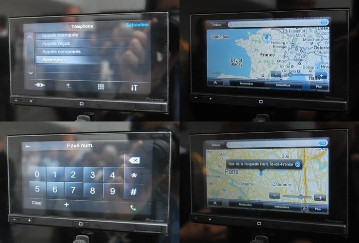 avec appradio pioneer connecte votre smartphone a l 39 autoradio. Black Bedroom Furniture Sets. Home Design Ideas