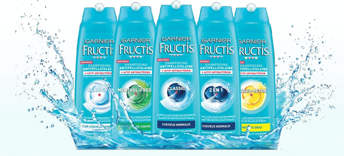 gamme garnier fructis antipel