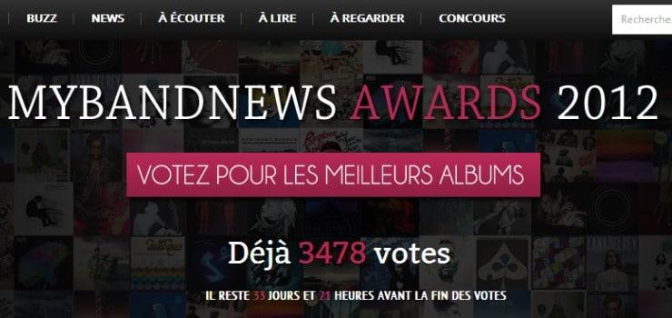 mybandnews awards 2012