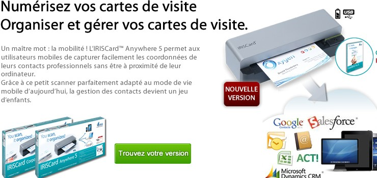 iriscard anywhere 5 test produit