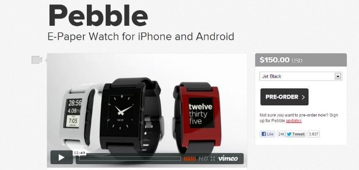 watch pebble