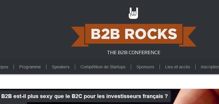 conference B2B rocks