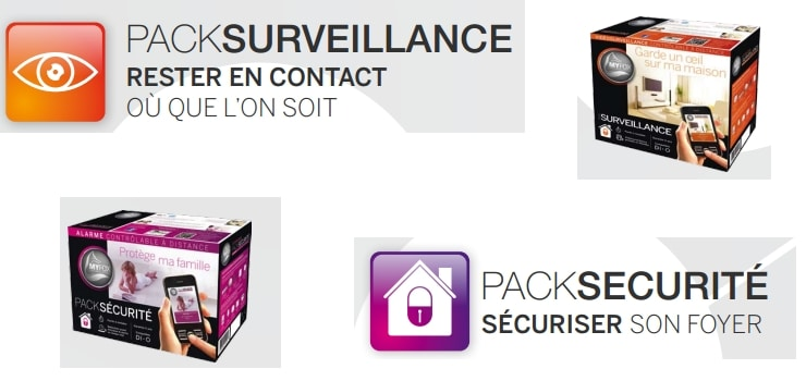 pack surveillance myfox hc2 pack securite