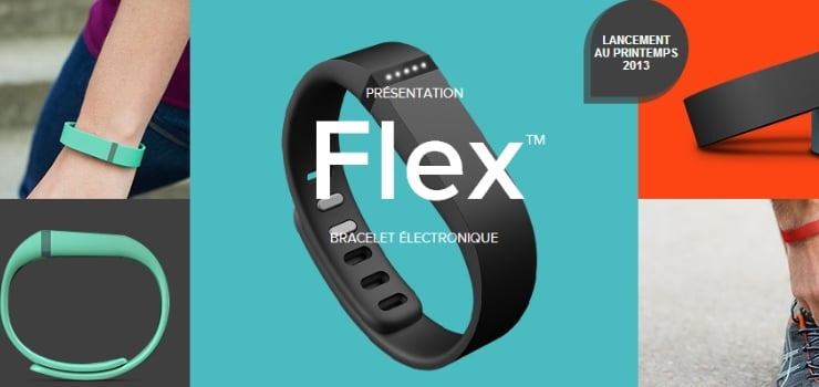 bracelet electronique fitbit flex
