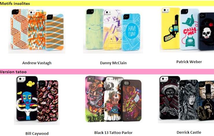 coques Designer Series de Griffin protection iphone