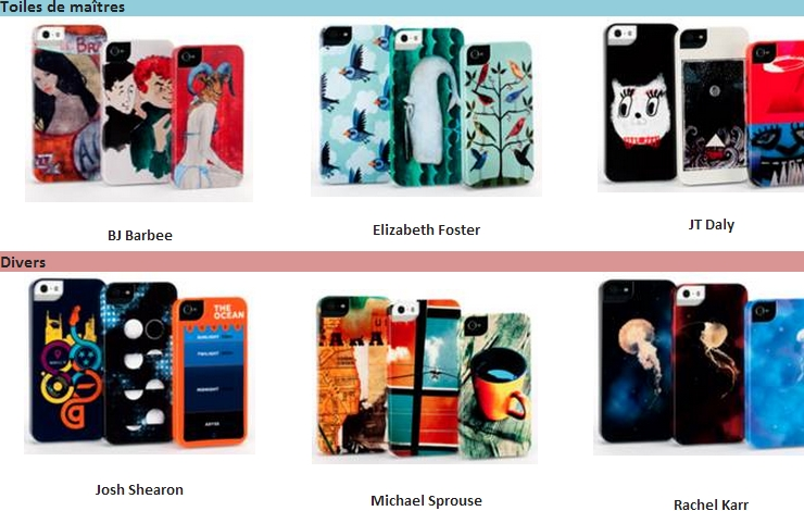 protection iphone coques Designer Series de Griffin