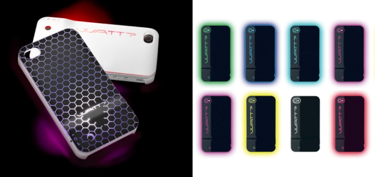 protection lumineuse iphone the light case