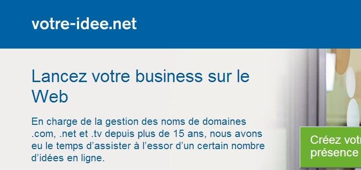 votre idée business web