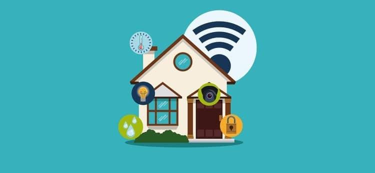 Smart house design.