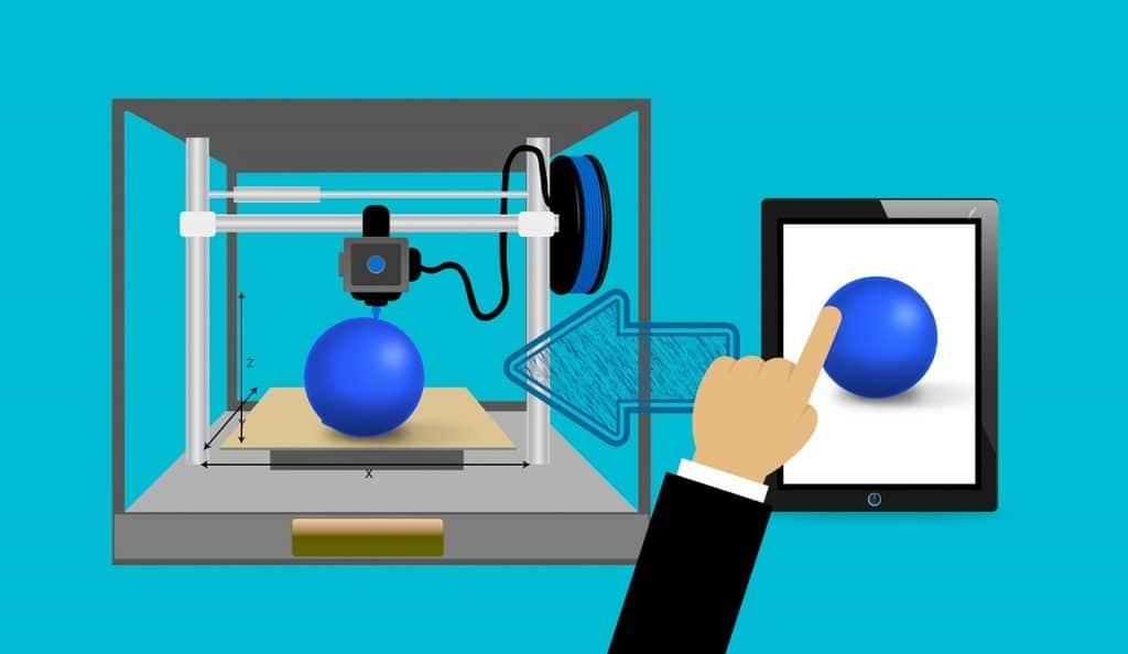 imprimante 3d entreprise