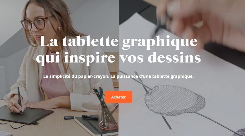 tablette graphique dessin numerique