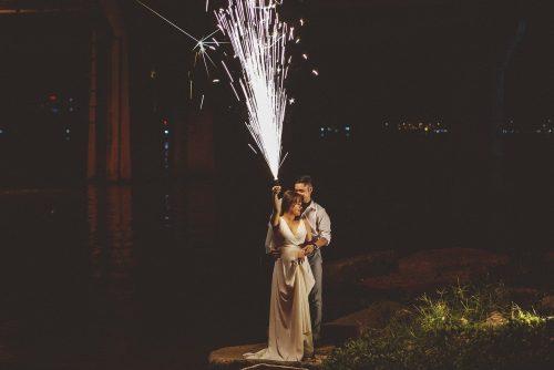 mariage jets de scene decoration