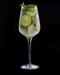 mojito champagne cocktail